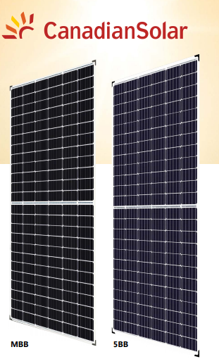 PV PANEL CANADIAN SOLAR CS3U-355|360|365|370P